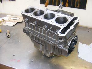 Engine paint Treatment
