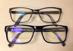 Blue light bocking glasses