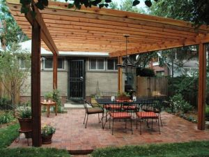 The way to get pergola -